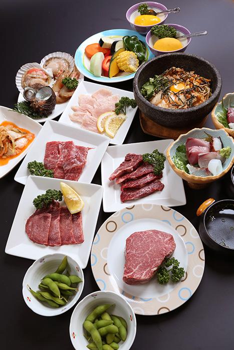 海鮮焼肉コース③