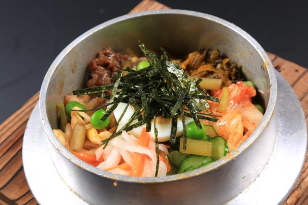 ビビンバ美豚釜飯